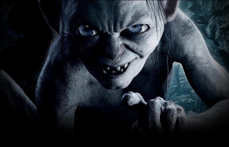 """Dans """"le Seigneur des Anneaux"""", quelle créature est Gollum ?"""
