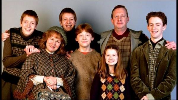 Dans la famille Weasley, lequel de ces diminutifs n'est pas correct ?