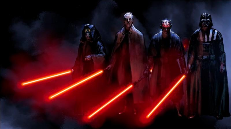 """Dans """"Star Wars"""" lequel de ces Siths n'existe pas ?"""
