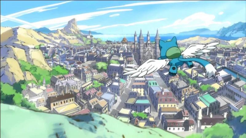 Comment s'appelle la ville où est située la guilde de Fairy Tail ?