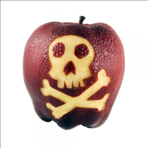 Laquelle a mangé une pomme empoisonnée ?