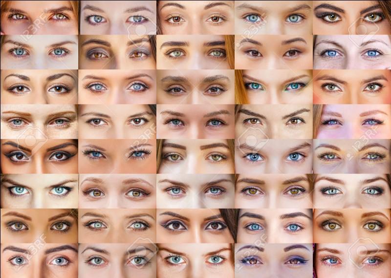 Quelle couleur d'yeux trouves-tu la plus jolie ?