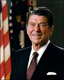 Qui fut le 40ème président des USA ?