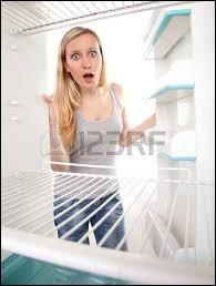 Pourquoi une blonde laisse-t-elle toujours des glaçons dans le réfrigérateur ?