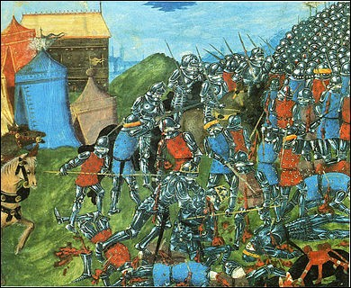 3 grandes batailles portent le nom de Poitiers. La 1ère en 507 à Vouillé marque la victoire de quel personnage qui devient le 1er roi de France à sa suite ?
