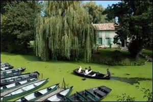 Comment se nomme la partie du marais Poitevin touchant la ville de Niort ?