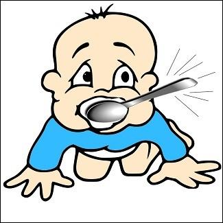 """Que signifie l'expression : """"être né avec une cuillère d'argent dans la bouche"""" ?"""