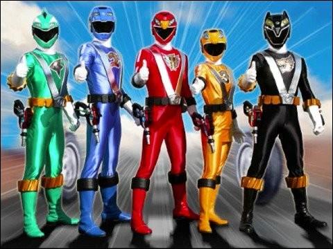 Les Power Rangers RPM voit le jour en 2009. Combien sont-ils ?