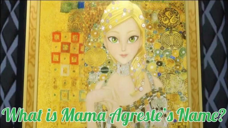 Pourquoi ne voit-on pas, dans aucun épisode, la mère d'Adrien ?