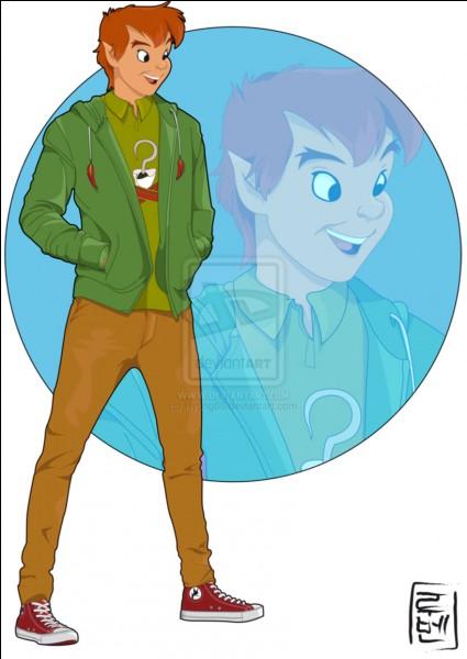 Peter Pan : - Hello, Miss Charlotte ! Tu me fais grave penser à Wendy, une amie à moi. Je ne me rappelle plus de quel pays elle vient. Tu te rappelles, toi ?