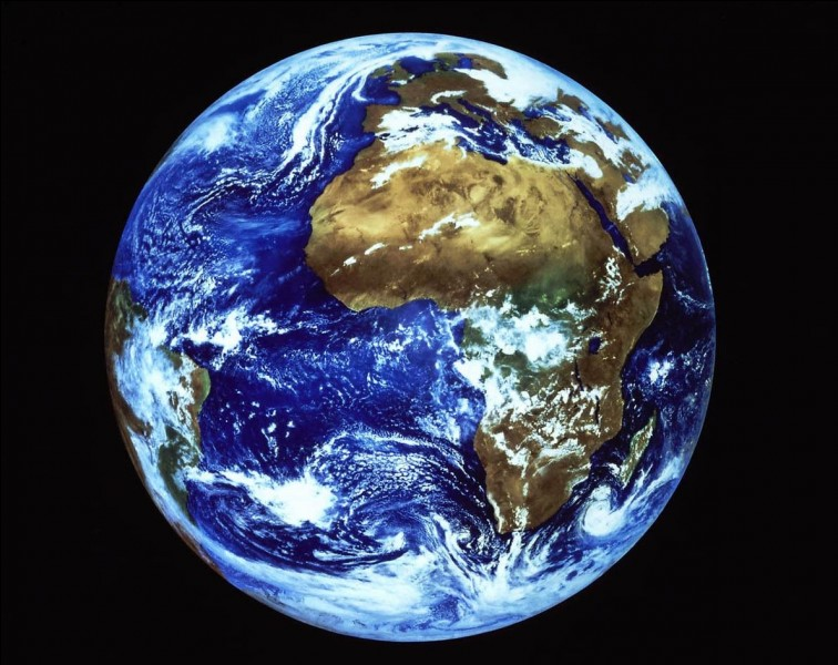La Terre est apparue il y a environ...