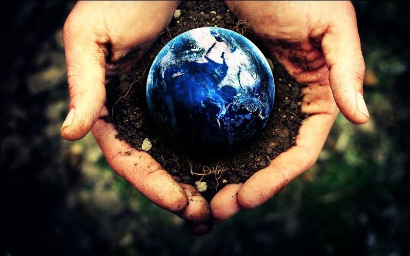 La superficie de la Terre est de...