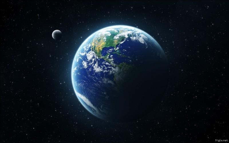 La température maximale de surface de la Terre est de...
