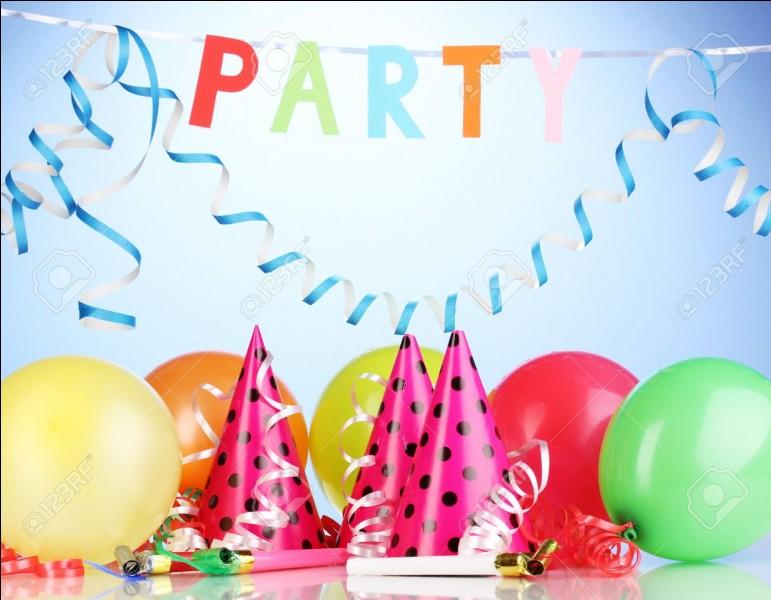 """Quel est le premier mot qui te vient à l'esprit si je te dis """"fête"""" ?"""