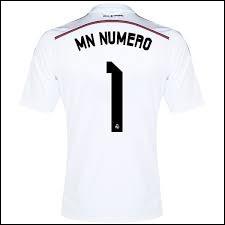 Quel est le numéro de ce maillot ?