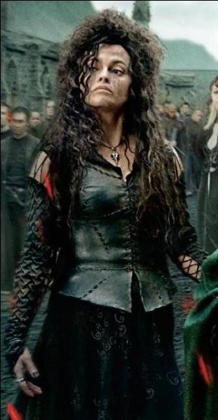 Que prononce Bellatrix Lestrange quand elle court ?
