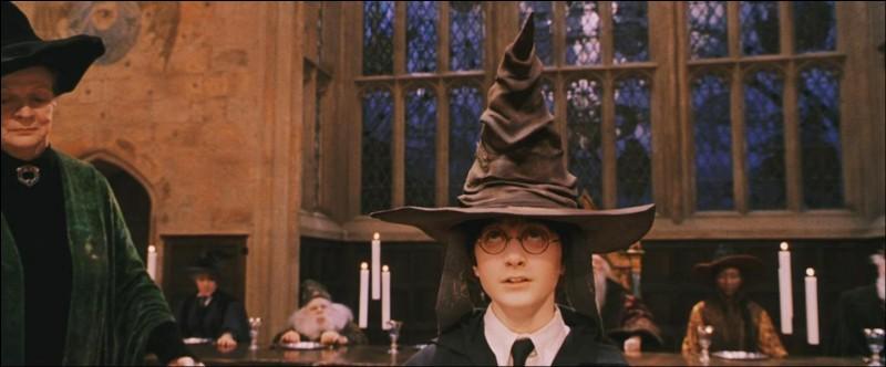 Comment se nomme le chapeau qui permet de répartir chaque élève dans une maison ?