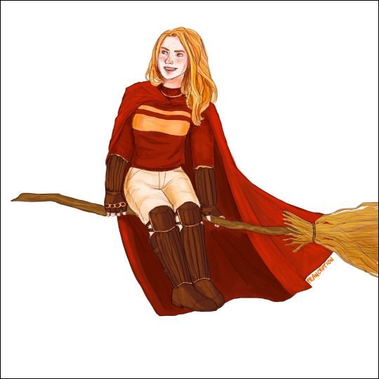 Quelle actrice joue Ginny ?