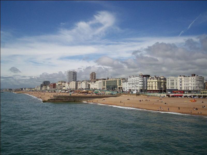 """Cette ville est populaire pour sa grande plage très animée et pour le """"British Airways i360"""". Voici..."""