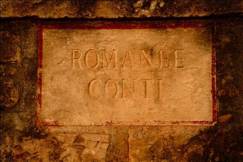 Le romanée-conti est ...