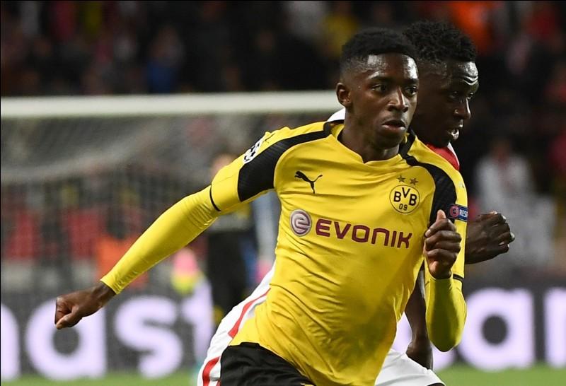 Quel club a acheté Dembélé en 2017 ?
