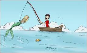 Joli mot sonnant comme une ritournelle et fait pour leurrer le poisson qui prendra alors à l'hameçon.