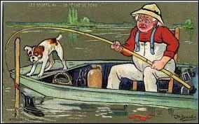 Je matte des bans de poissons que l'on appelle mates.