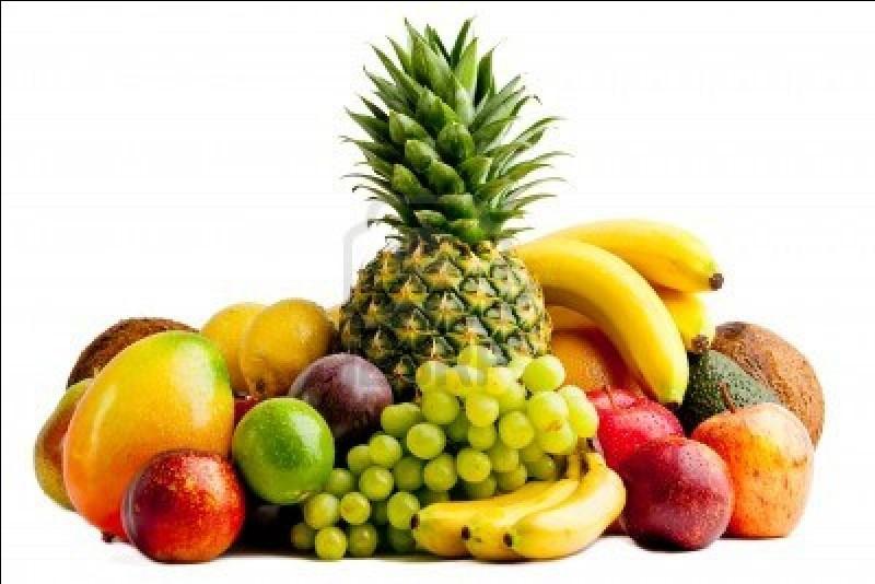 Ils mangent aussi des fruits.