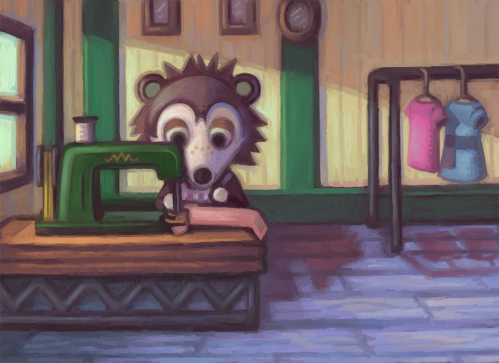 Animal Crossing New Leaf - Les Sœurs doigts de fée