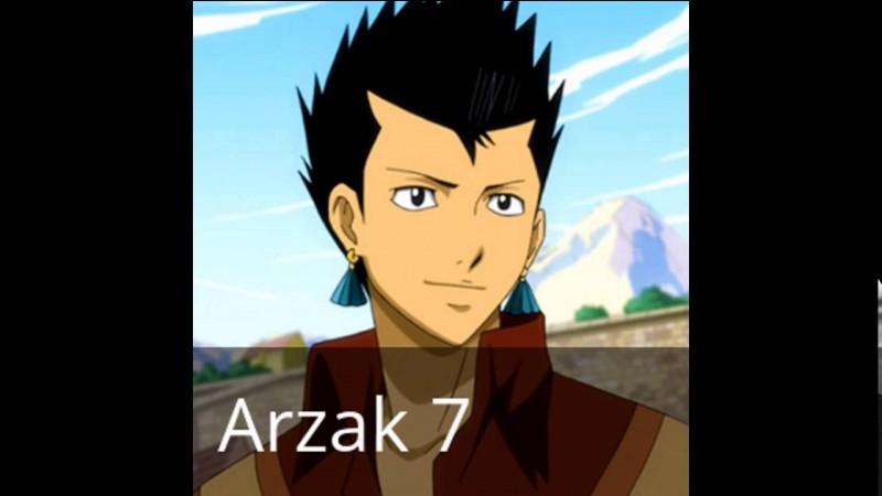"""Où se trouve l'emblème de """"Fairy Tail"""" d'Arzak ?"""