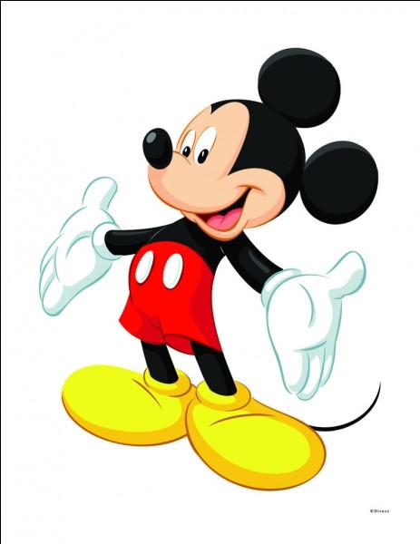 Comment s'appelle le chien de Mickey ?