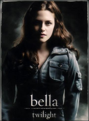 Quel est  nom de l'actrice qui joue Bella?