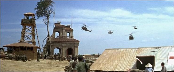 De quelle couleur sont les Bérets dans ce film sur la guerre du Vietnam réalisé et interprété par John Wayne ?