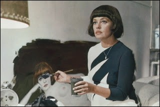 De quelle couleur est la mariée, interprétée par Jeanne Moreau, dans ce film de François Truffaut ?