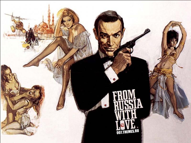 """Qui incarne James Bond dans """"Bons baisers de Russie"""" ?"""