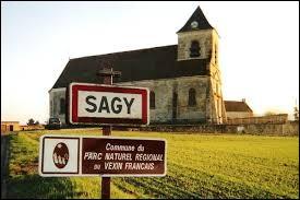 Petit tour en Ile-de-France, dans le Vexin français, à la découverte de Sagy. Nous serons dans le département ...