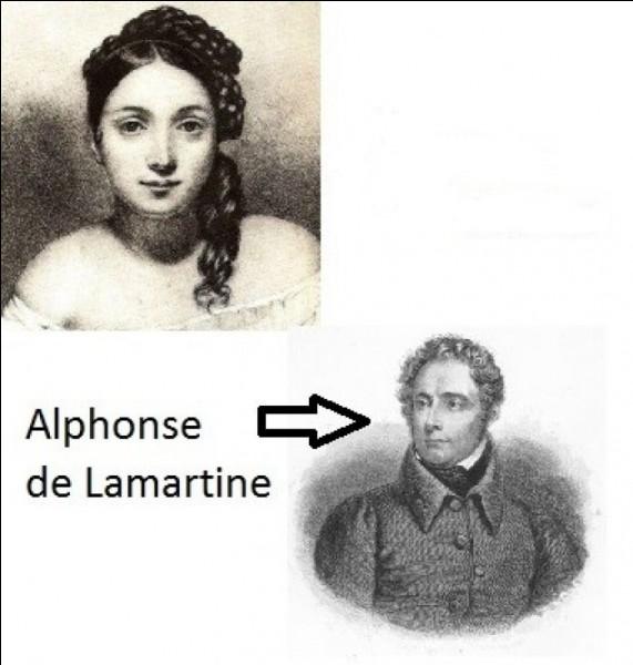 """L - """"Lamartine"""" a écrit le poème """"À ma fille Adèle"""" en 1881."""