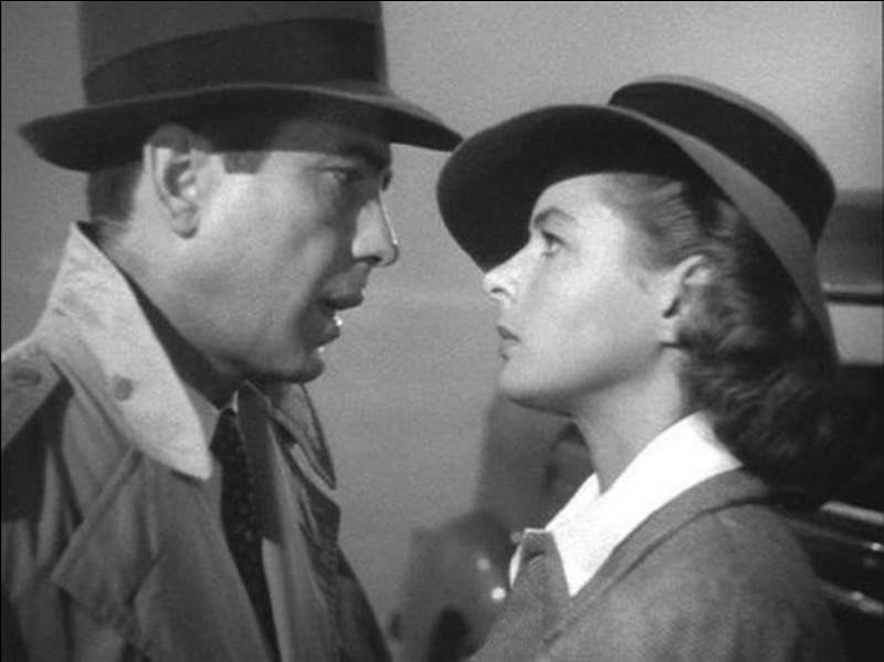 Le nom de cette ville d'Afrique du Nord est le titre de ce célèbre film qui réunit Humphrey Bogart et Ingrid Bergman. Quelle est cette ville ?