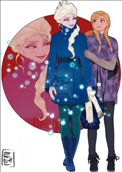 Nous sommes Elsa et Anna, reine et princesse d'Arendelle. Quel est mon pouvoir ? (Elsa)