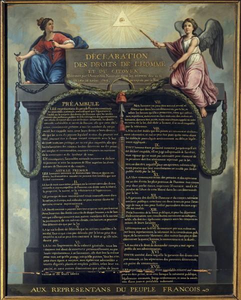 Parmi les libertés accordées par la Déclaration des droits de l'homme et du citoyen, il y a la liberté de ... !
