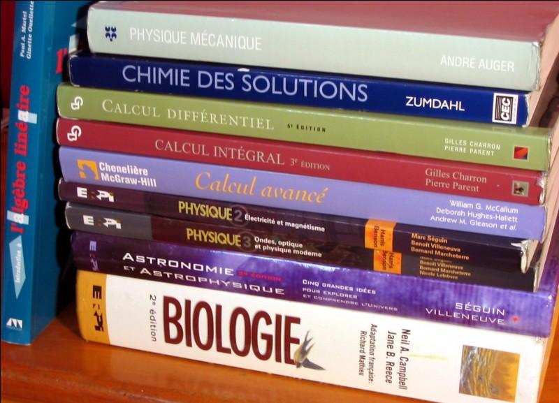 Réponse sur une question de sciences naturelles : Erma Frodite est une grande spécialiste ...
