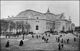 En 1900, où s'est déroulée l'exposition universelle ?