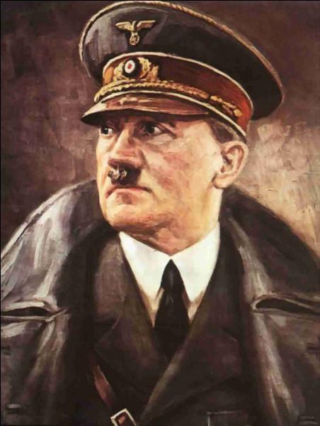 En quelle année Adolf Hitler est-il devenu chancelier du Reich ?