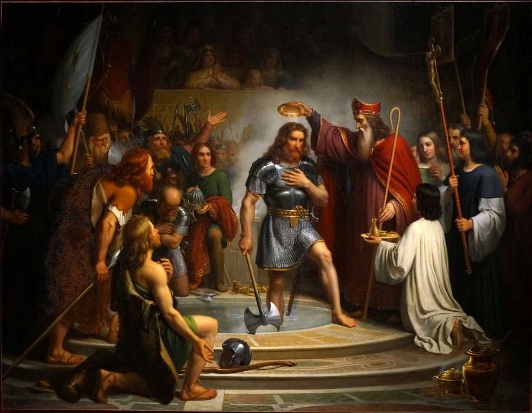 Quelle date correspond au baptême de Clovis ?