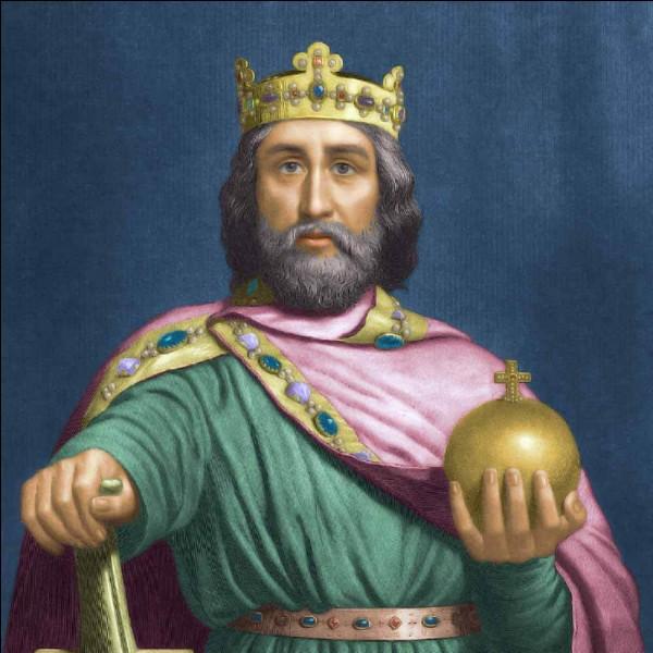 Quand l'empereur Charlemagne a-t-il été sacré ?