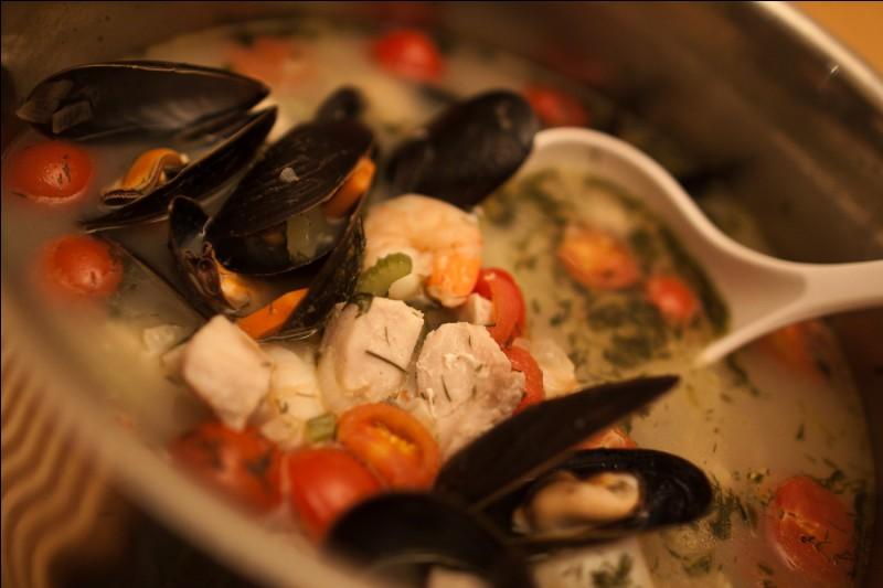 Bouillabaisse. Lequel de ces poissons ne fait pas partie de la recette traditionnelle de la bouillabaisse ?
