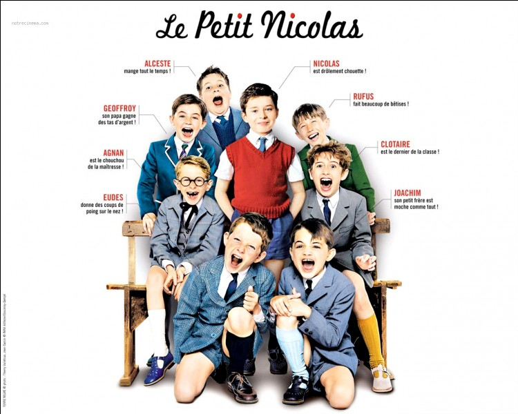 """Dans """"Le Petit Nicolas"""", qui est le dernier de la classe ?"""