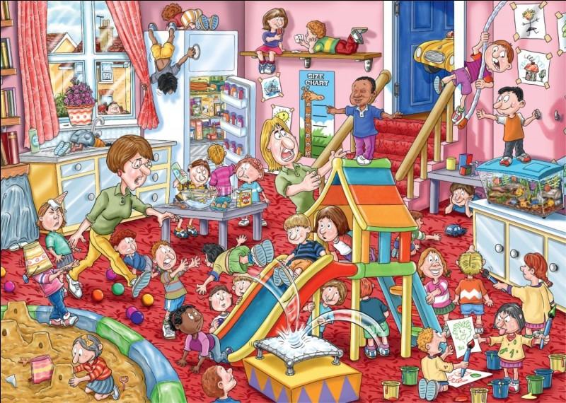 A quoi sert la garderie à l'école ? (Il est encore temps de lire (relire) la consigne) .