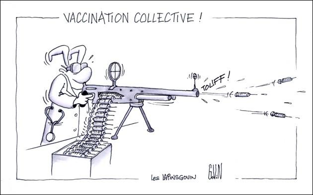 Quel vaccin le médecin nous administrait-il à l'école ?
