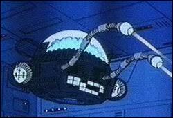 Cette machine volante est connectée au cerveau du meilleur ami du père du Capitaine Flam, quel est son nom ?